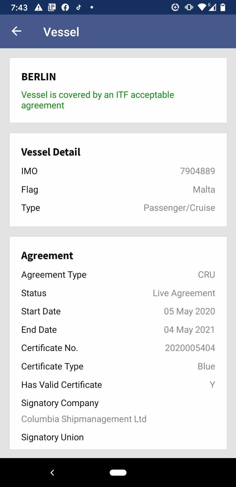ITF Seafarers Mobile App